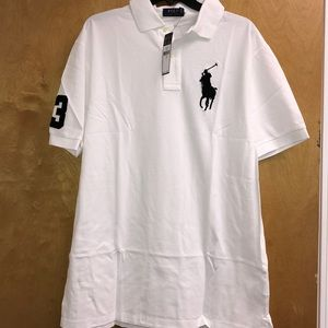 Polo Ralph Lauren Men's Tall Classic Fit Polo